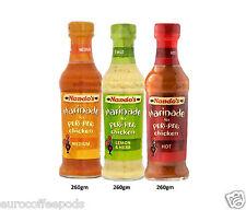 Nanads's Marinade Triple Pack, Peri Peri Chicken, Lemon & Herb,Medium & Hot 260g