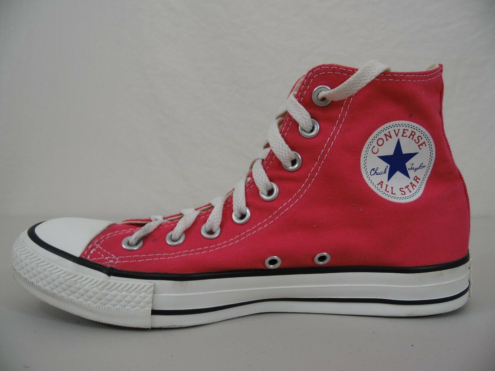 CONVERSE ALL-STAR  Chuck Taylor  Mens 7 Womens 9 High Top shoes Sneakers RED