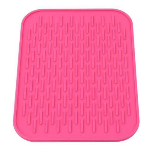Silicone Insulation Mat Anti-slip Placemat Heat Resistant Table Protector Pad HY