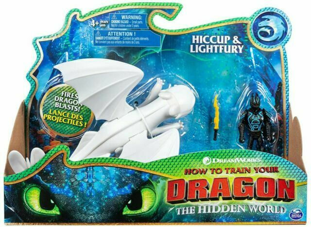 How To Train Your Dragon 3 Hidden World 2019 Hiccup Lightfury Action Figures For Sale Online Ebay
