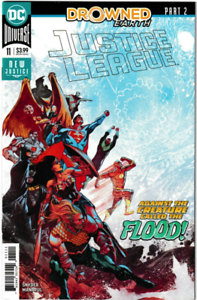 Justice-League-11-DC-COMICS-Aquaman-Drowned-Earth-COVER-A-1ST-PRINT