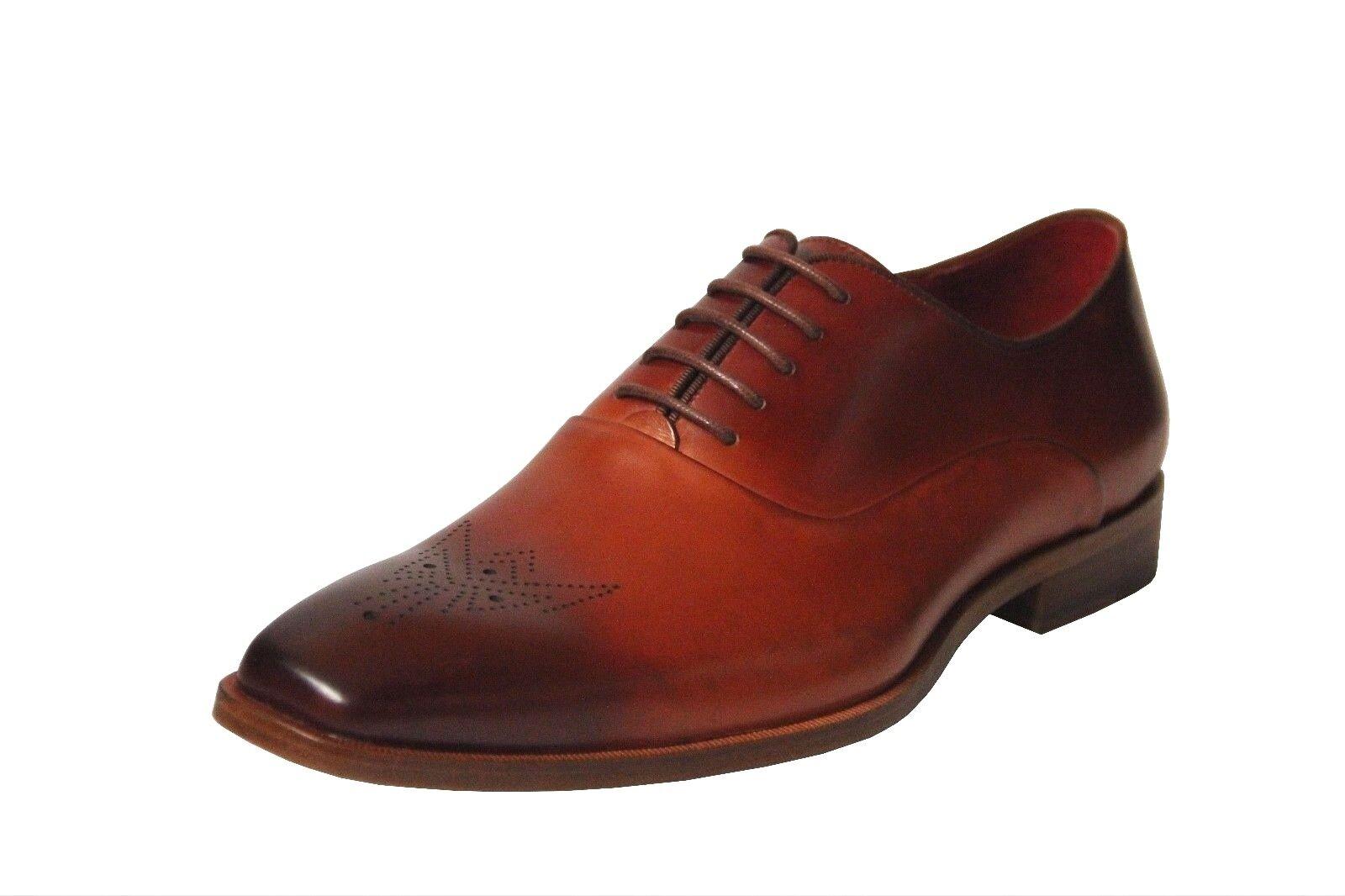 Zapatos de vestir Steven Land Para hombres Oxford Cuero Genuino Burdeos SL0017