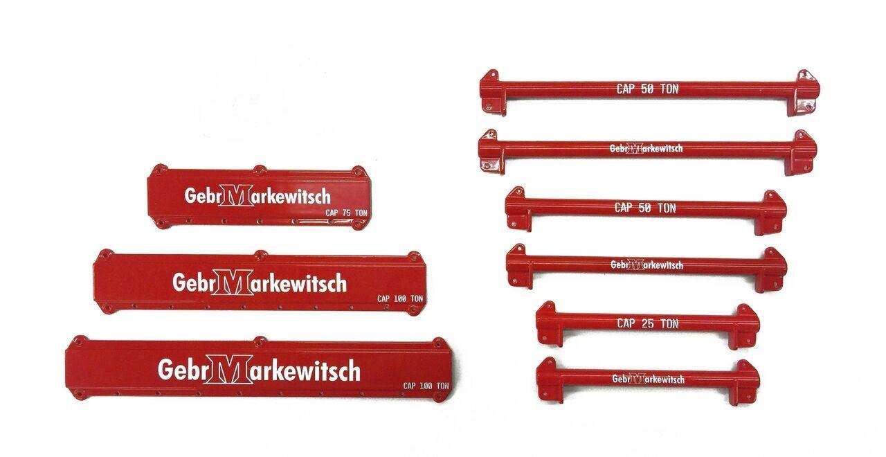 121 PC Kit De Elevación Grúa Aparejo & con esparcidor vigas markewitsch -  - Weiss