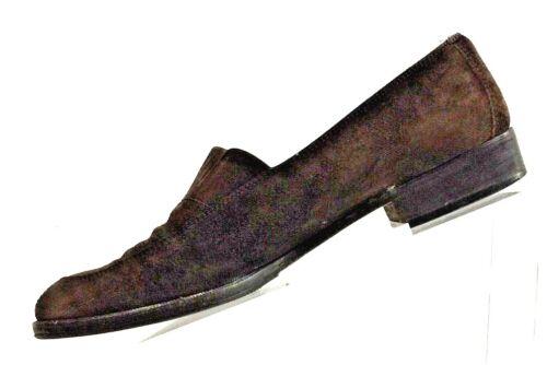 talla zapatos mujer Italia gamuza de Salvatore 7 Ferragamo fabricados para 5aa en marrón vZBWq5w