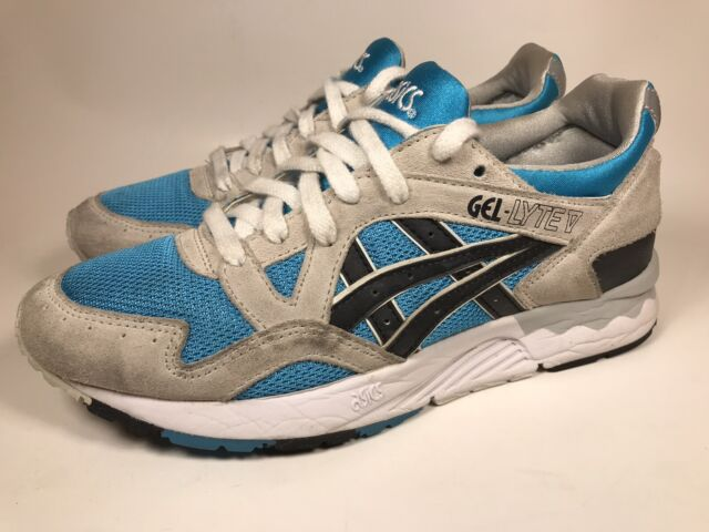 info for 1aa49 fc8bf ASICS Gel Lyte V New Shoes Sneakers H435L 4190 Men's Size US 6.5 Atomic Blue
