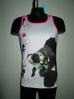 Jor Clothing Contour Tank Top Art White (s)