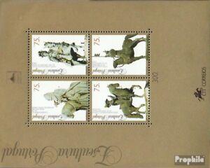 Portugal-Block110-kompl-Ausg-postfrisch-1995-Skulpturen