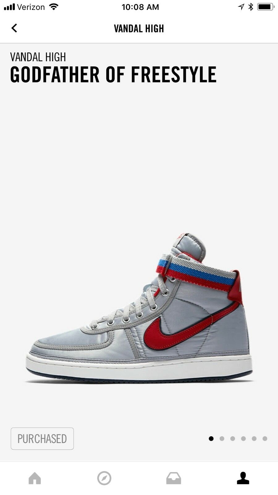 Nike è alto supremo dimensioni 13