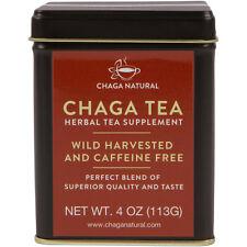 Siberian Wild harvested Chaga Mushroom Loose Tea 4oz 113g Extract and Raw Mix