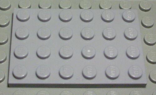 Lego Platte 4x6 new Grau 2 Stück 936