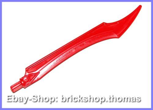 NEU // NEW Lego Hero Factory Waffe Klinge rot 11305 Weapon Blade red