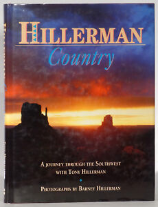 Tony-Hillerman-Country-Southwest-journey-in-photos-1991-first-edition