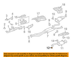 Sensational Acura Honda Oem 14 16 Rlx 3 5L V6 Exhaust System Muffler Gasket Wiring Digital Resources Cettecompassionincorg