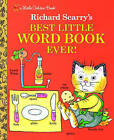 Best Little Word Book Ever by Richard Scarry (Hardback, 1993)
