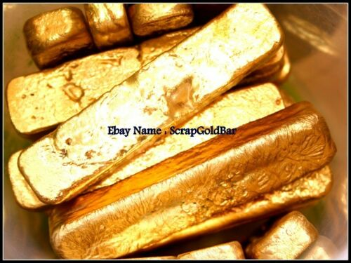 100 grams Scrap lot gold bar for Gold Recovery For jewelry or Coins For Gift
