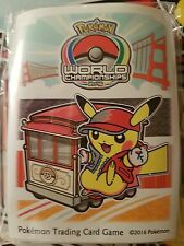 Pokemon Worlds Championship San Francisco 2016 Competitor Card Sleeves TCG