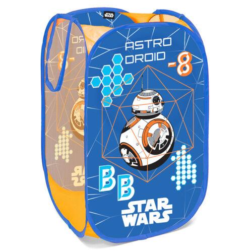 Genuine DISNEY Pop Up Mesh Hamper Laundry Basket Bag Bin Tidy Storage Toy Kids