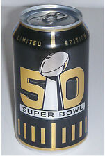 2015 BUD LIGHT NFL SUPER BOWL 50 LIMITED EDITION COLLECTIBLE SOUVENIR CAN