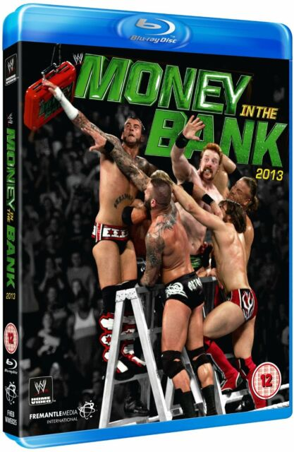 WWE Money in the Bank 2013 Orig Blu Ray WWF Wrestling