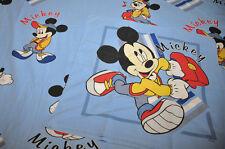 Disney VINTAGE Reversible Duvet cover + pillowcase Mickey va à l'école