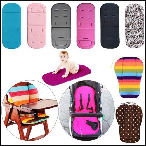 Baby Stroller Seat Liner Pram Cushion Padding Crawl Pushchair Car Seat Mat Cover