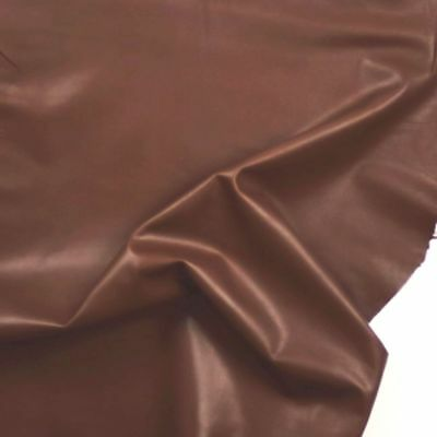 Lamb nappa leather 0.7mm Small pieces OLIVE Beautiful Soft Smooth BARKERS N248