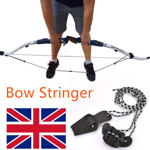 Bow Stringer Tool Recurve Traditional Bow Stringer Install Bowstring Assistance