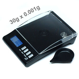 30g-x-0-001g-Digital-Scale-150-x-0-01ct-Precision-Jewelry-Reload-Scale-with-Tray