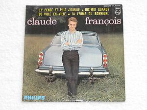 CLAUDE-FRANCOIS-DIS-MOI-QUAND-ORIGINAL-EDITION-FRANCAIS-EP-7-034