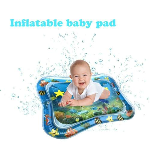 Inflatable Baby Water Mat Novelty Play Kids Children Infants Toddlers Tummy Time