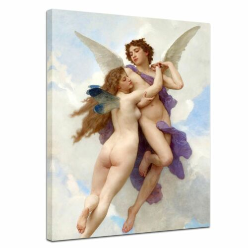 William-Adolphe Bouguereau Alte Meister Amor und Psyche Leinwandbild