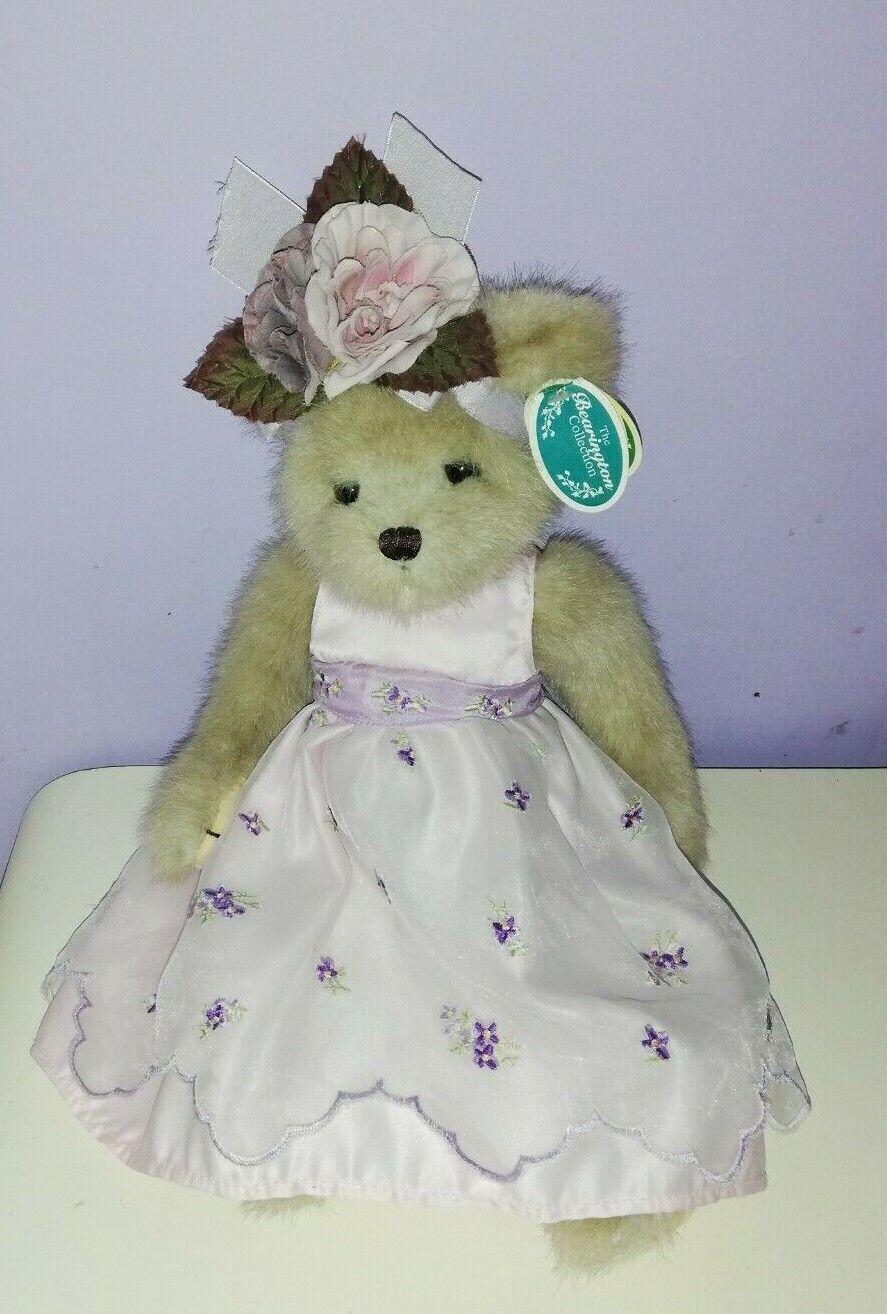 The Bearington Bears Collection - lila lila lila Teddy Bear - With Tags e882a8