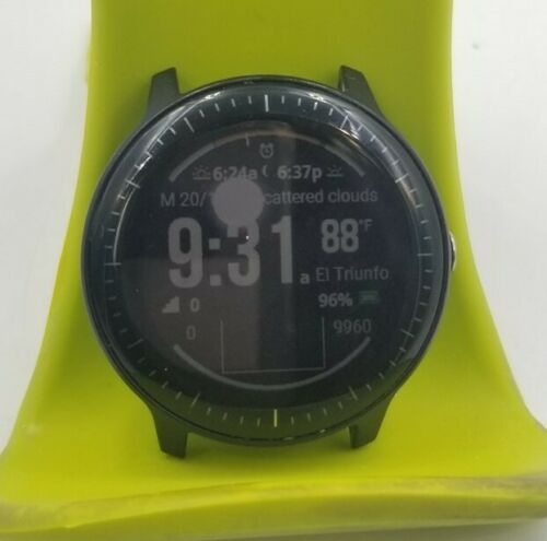 vívoactive 3 Music Smartwatch 43mm Polymer Black Silicone DD6327 Garmin