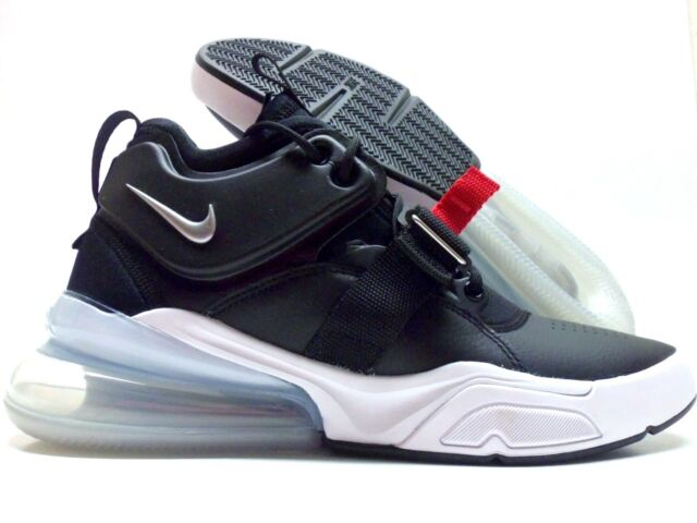 6d7739c70e9 Nike Air Force 270 Ah6772-001 Black Silver White Size 10 for sale ...