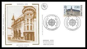 France-MACON-Batiment-postal-1990-FDC