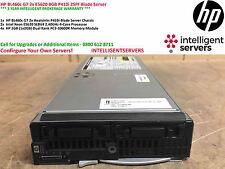 HP BL460c G7 2x E5620 8GB RAM P410i Blade Server 603718-B21