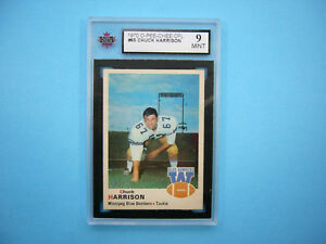 1970-O-PEE-CHEE-CFL-FOOTBALL-CARD-65-CHUCK-HARRISON-KSA-9-MINT-SHARP-039-70-OPC