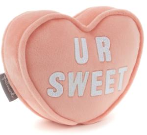 Hallmark-Valentine-U-R-Sweet-Candy-Heart-Plush-with-Pocket-New-with-Tag