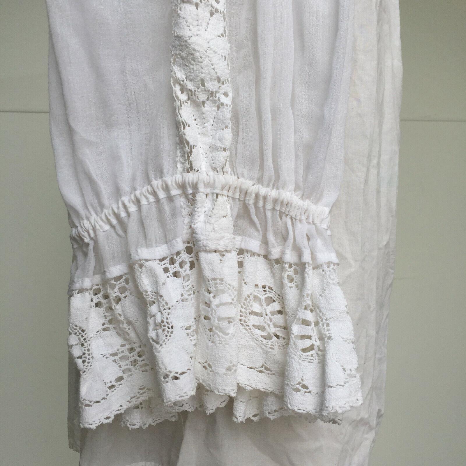 VTG 1970s Hungarian Handmade Textured Boho-Chic P… - image 12