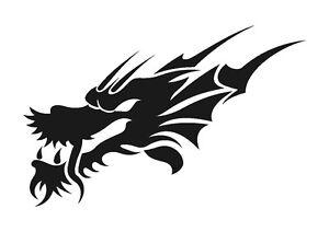 Chinese-Dragon-Head-stencil-350-micron-Mylar-not-thin-stuff-TaT0046