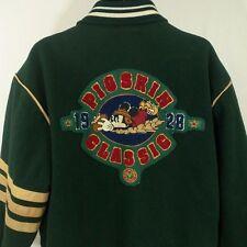 Mickey Mouse Varsity Jacket Vtg Disney Mickey's Pigskin Classic Maulers Wool L
