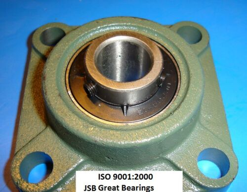 """Qty.2 7//8/"""" UCF205-14 Quality square flanged UCF 205-14 Pillow bearing ucf205"""