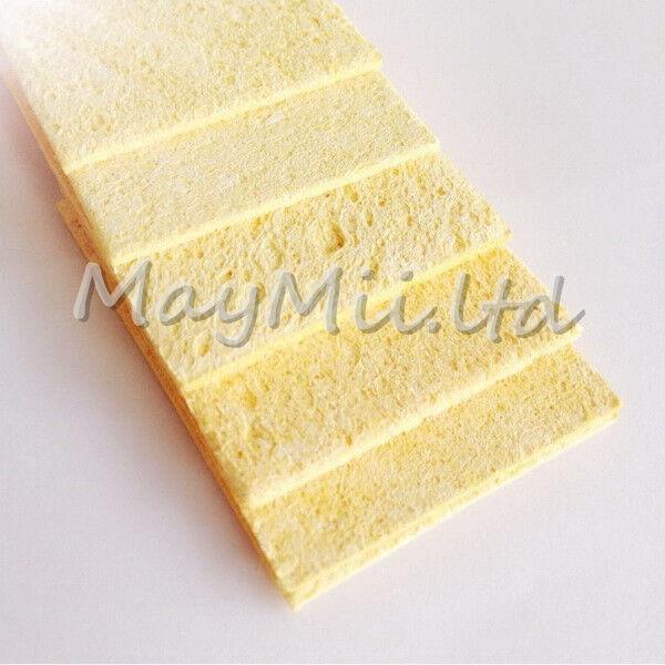 Cleaning Sponge for 936-12 Solder Station 5×3.5×0.6 10pcs/pack Skin color