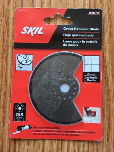 """OIS System SKIL 84572 Grout Removal Blade 1//16/"""" Carbide for grout NEW!"""
