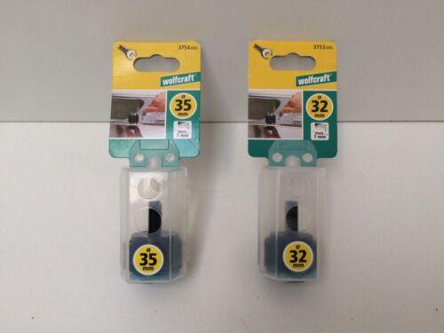 Edelstahl Wolfcraft  Lochschneider für Wasserhähne 32 und 35 mm für Bleche
