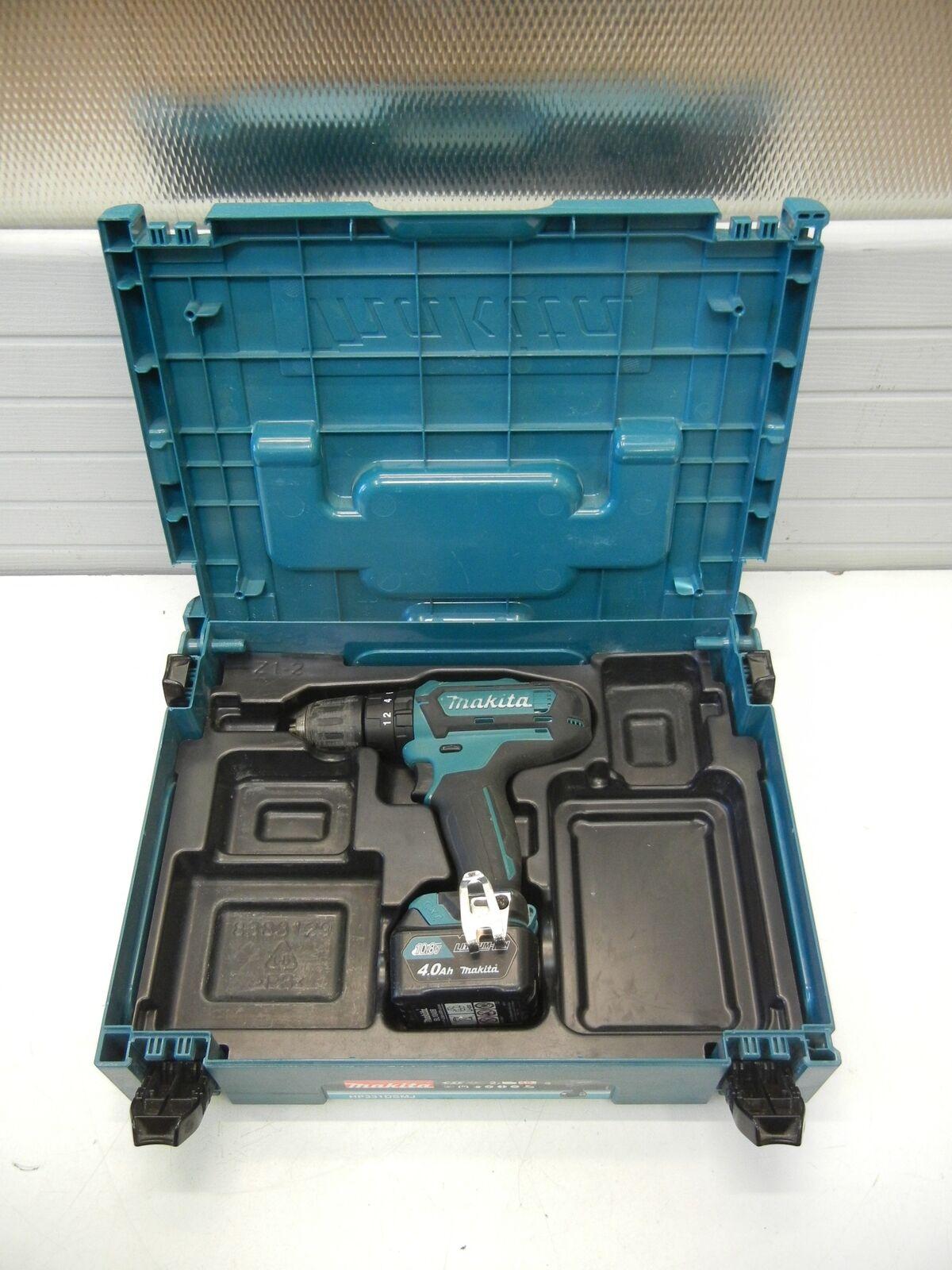 Makita HP 331 DSMJ Batterie-coup + Makpac + 1 Batterie Facture y04050