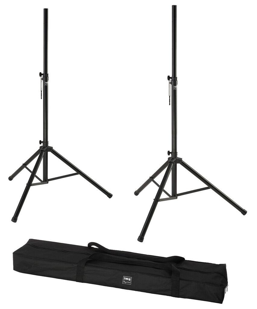 Monacor PAST-122 / Black White Loudspeaker-Tripod Set 17-3073