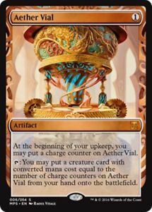 Fiole-d-039-Aether-PREMIUM-FOIL-Aether-Vial-Kaladesh-Invention-Magic-mtg