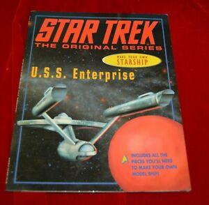 Star-Trek-Enterprise-Model-Books-Make-a-Starship-1997