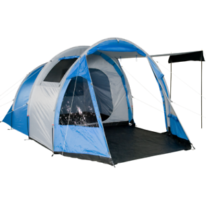 TSB 4 person tent camping tent tunnel tent 3000mm standing height ventilation